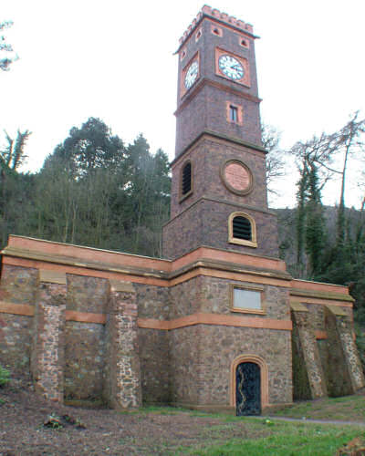 The Clock Tower after restoration by Malvern Spa Association
