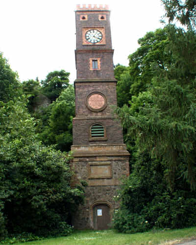 Clock Tower before restoration by Malvern Spa Association