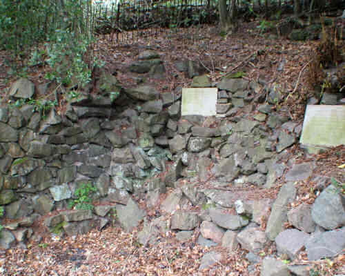 The well-hidden Ellerslie Spout after restoration by Malvern Spa Association