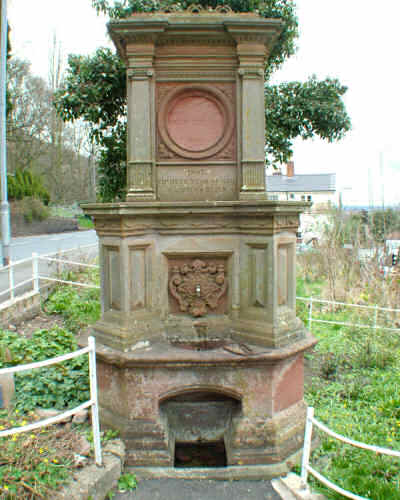 Jubilee fountain - restored by Malvern Spa Association