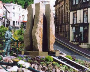 Enigma Fountain, Great Malvern