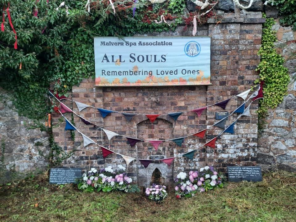 All Souls 2020 finished decorations Malvern Spa Association